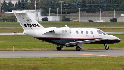 N392RG - Cessna 525 CitationJet 1 - Private