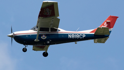 A picture of N818CP - Cessna 182T Skylane - Civil Air Patrol - © HAOFENG YU