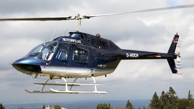 D-HOCH - Agusta-Bell AB-206B JetRanger II - Rotorflug