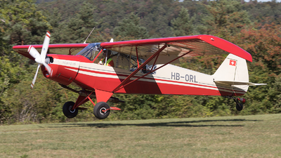 HB-ORL - Piper PA-18-150 Super Cub - Private