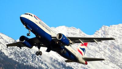 A picture of GEUUR - Airbus A320232 - British Airways - © Paul Kolar