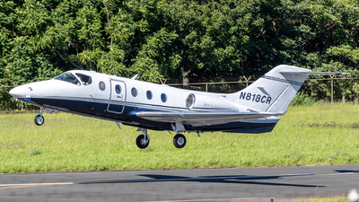 N818CR - Hawker Beechcraft 400A - Private