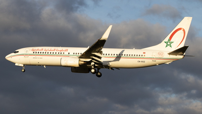 A picture of CNROZ - Boeing 7378B6 - Royal Air Maroc - © Pierre Pm