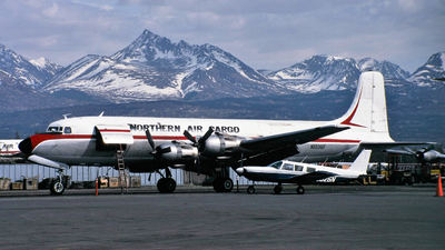 N1036F - Douglas C-118A Liftmaster - Northern Air Cargo (NAC)