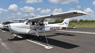 N55245 - Cessna 172S Skyhawk SP - Texas Aviation Academy