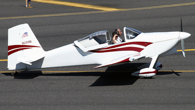 N289B - Vans RV-7 - Private