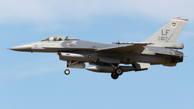 93-0817 - General Dynamics F-16A Fighting Falcon - United States - US Air Force (USAF)