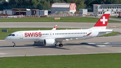 HB-JCG - Bombardier CSeries CS300 - Swiss