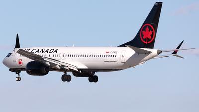 C-FSDQ - Boeing 737-8 MAX - Air Canada