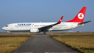 TC-JFC - Boeing 737-8F2 - Turkish Airlines