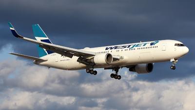C-FWAD - Boeing 767-338(ER) - WestJet Airlines
