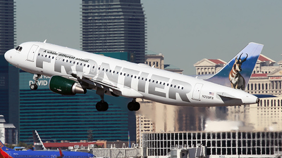 N209FR - Airbus A320-214 - Frontier Airlines