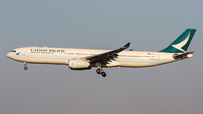 A picture of BLAE - Airbus A330342 - Cathay Pacific - © TasKforce404-HK416