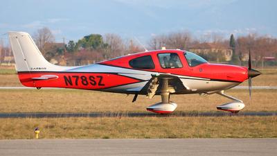N78SZ - Cirrus SR22-GTS G5 Carbon - Private