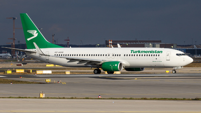 A picture of EZA018 - Boeing 73782K - Turkmenistan Airlines - © TJDarmstadt