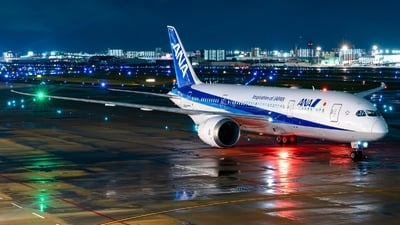 A picture of JA817A - Boeing 7878 Dreamliner - All Nippon Airways - © S Waki