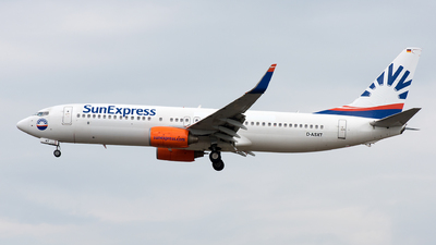 D-ASXT - Boeing 737-8EH - SunExpress Germany