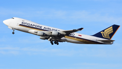 9V-SFI - Boeing 747-412F(SCD) - Singapore Airlines Cargo
