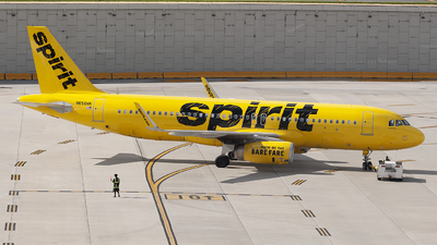 N656NK - Airbus A320-232 - Spirit Airlines