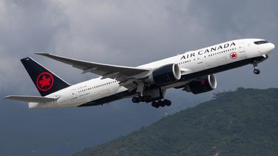 C-FIUJ - Boeing 777-233LR - Air Canada
