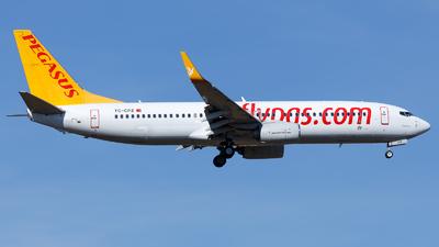 TC-CPZ - Boeing 737-8H6 - Pegasus Airlines
