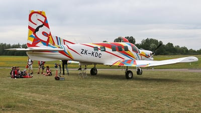 ZK-KDC - Pacific Aerospace P-750 XSTOL - Private