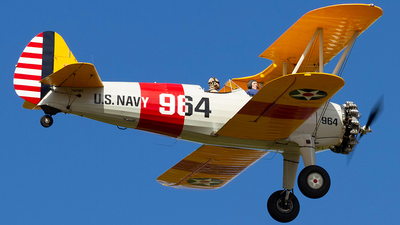 N47964 - Boeing N2S-3 Stearman - Private