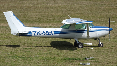 ZK-NEI - Cessna 152 - New Zealand International Commercial Pilot Academy