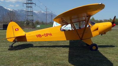 HB-OPH - Piper PA-18-150 Super Cub - Private