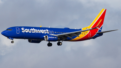 A picture of N8674B - Boeing 7378H4 - Southwest Airlines - © AirPilot_Photography