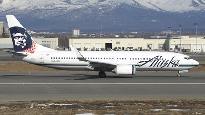 N584AS - Boeing 737-890 - Alaska Airlines