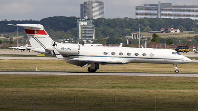 HB-JKC - Gulfstream G550 - Private