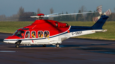 A picture of GSNSF - AugustaWestland AW139 - CHC Helikopter Service - © Bradley Bygrave