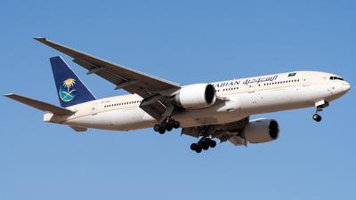 HZ-AKQ - Boeing 777-268(ER) - Saudi Arabian Airlines