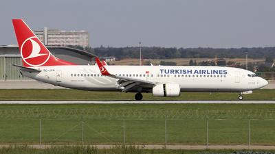 A picture of TCJVR - Boeing 7378F2 - Turkish Airlines - © Johannes Reichert