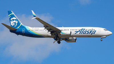 A picture of N495AS - Boeing 737990(ER) - Alaska Airlines - © Israel Polanco