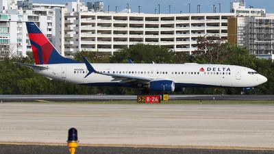 A picture of N920DU - Boeing 737932(ER) - Delta Air Lines - © Angel Natal