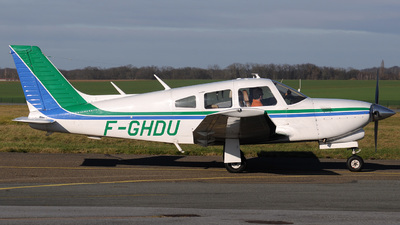 F-GHDU - Piper PA-28R-201T Turbo Cherokee Arrow III - Private
