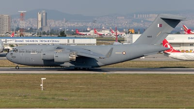 A7-MAO - Boeing C-17A Globemaster III - Qatar - Air Force