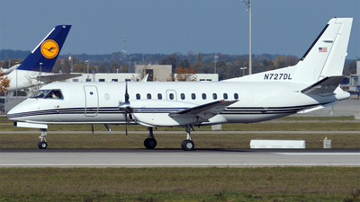 N727DL - Saab 340A - Private