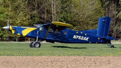 N752AK - Pilatus PC-6/B2-H2 Turbo Porter - Private