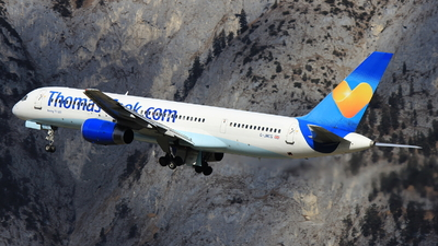 G-JMCG - Boeing 757-2G5 - Thomas Cook Airlines