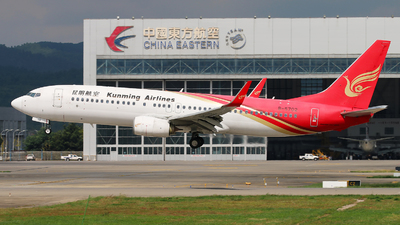A picture of B5702 - Boeing 73787L - Kunming Airlines - © cmqmc