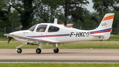A picture of FHKCQ - Cirrus SR20 - [2197] - © Eric Verplanken