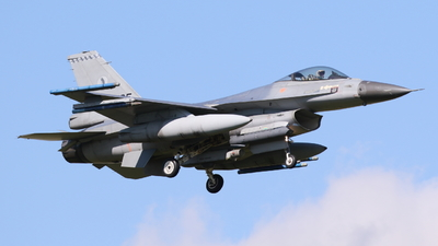 J-135 - General Dynamics F-16AM Fighting Falcon - Netherlands - Royal Air Force
