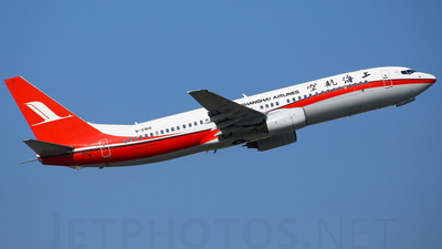 A picture of B2168 - Boeing 7378Q8 - [30632] - © Panuwat.s