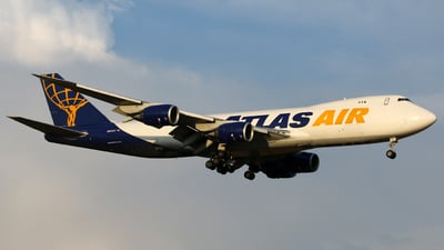 N850GT - Boeing 747-87UF - Atlas Air