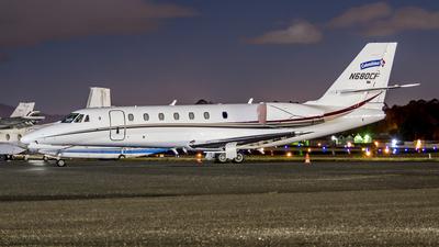 A picture of N680CF - Cessna 680 Citation Sovereign - [6800117] - © Pablo Velasquez Lopez