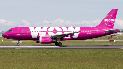 TF-SIS - Airbus A320-232 - WOW Air
