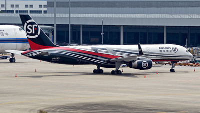 B-1177 - Boeing 757-223(SF) - SF Airlines
